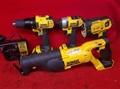 Dewalt Combo Set - Drill / Impact / Flashlight / Reciprocating Saw